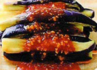 茄子の中華ドレッシング